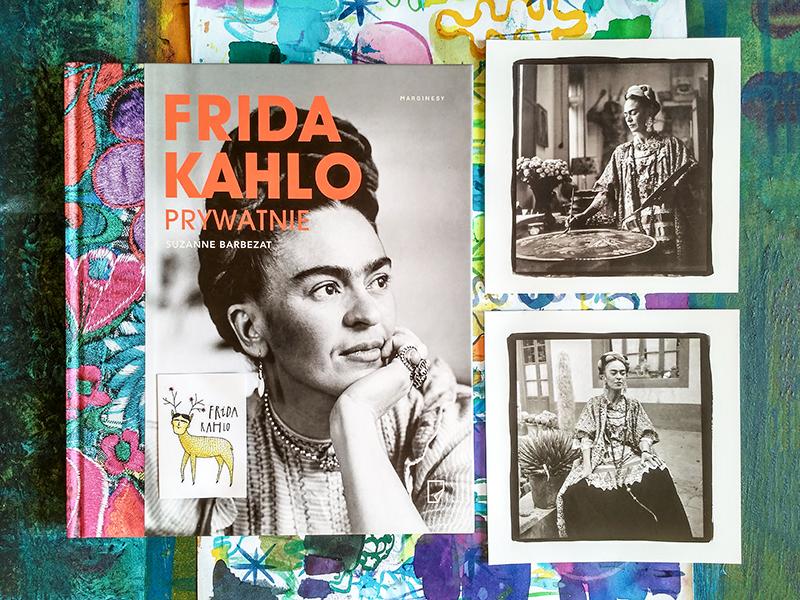 książka Frida Khalo prtywatnie pocztówki kolekcjonerskie Frida na zamku